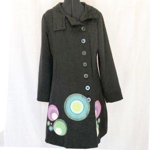 Desigual  artsy Jackets & Coats black ornaments M